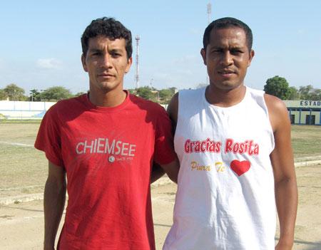 Ariel Peña y Joao Ramírez
