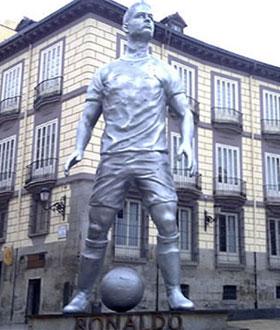 Estatua de CR9