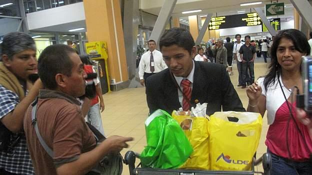 Juan Aurich regresó al Perú