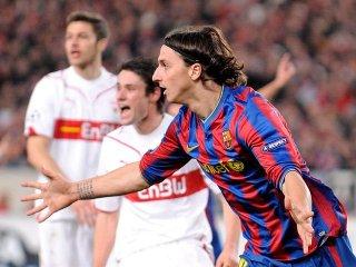 Zlatan le da el empate al Barcelona