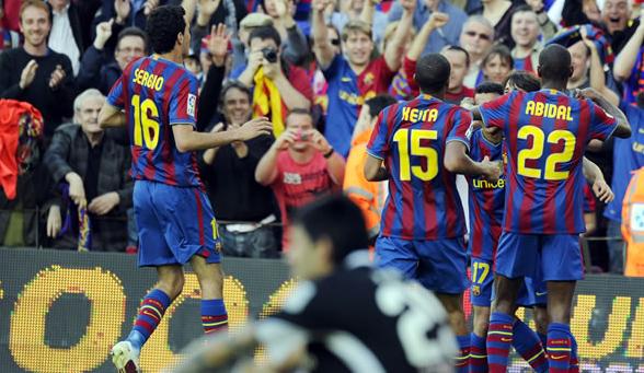 Barcelona goleó y es el campeón