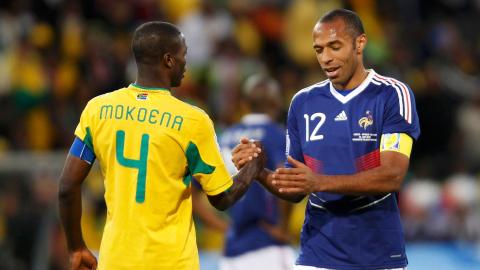Sudafrica vs Francias