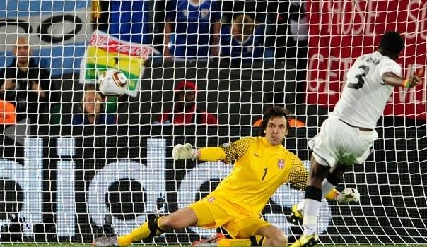 Primer gol de Penal en Sudáfrica 2010