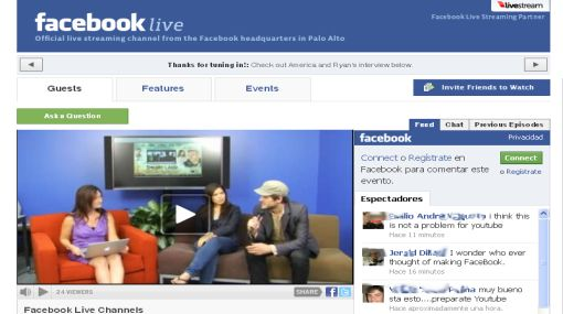 Facebok Live