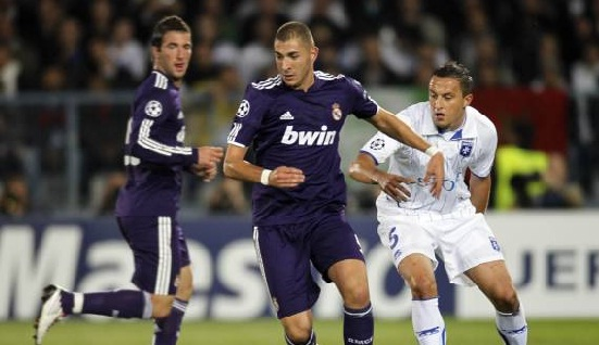 Real Madrid - Auxerre