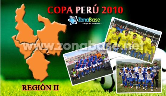 Región II - Etapa Regional de la Copa Perú 2010