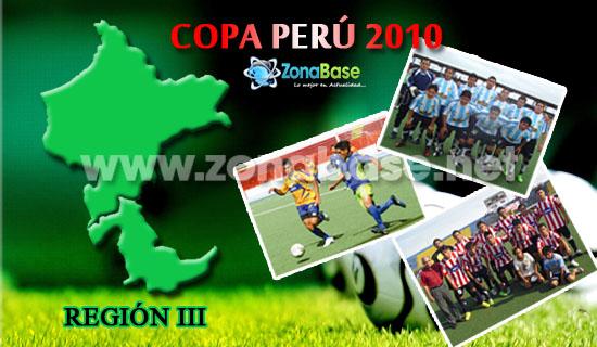 Región III - Etapa Regional de la Copa Perú 2010