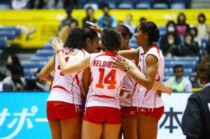 Ver Perú vs. China en VIVO – Mundial de Voley Japón 2010