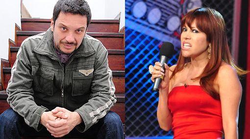 Lucho Cáceres y Magaly Medina