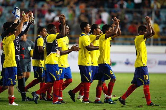 seleccion de Ecuador Sub 20