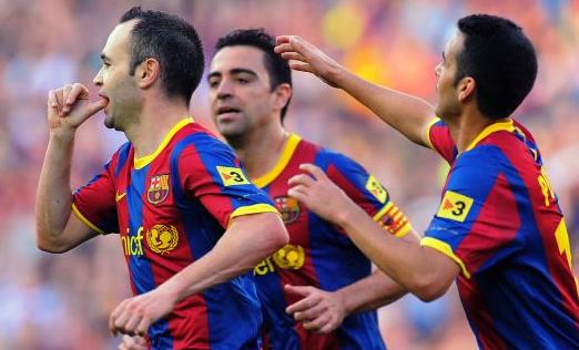 Barcelona casi campeon
