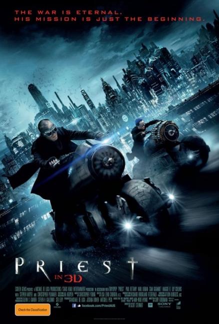 Poster motorizado de El Sicario de Dios