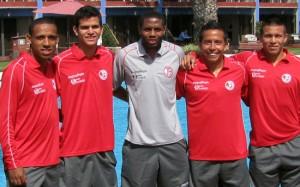 Juan Aurich juega su último partido amistoso frente a la Vallejo