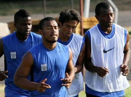 Alianza Lima presentó lista la Copa Libertadores