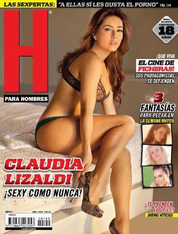 Claudia Lizaldi-H para hombres