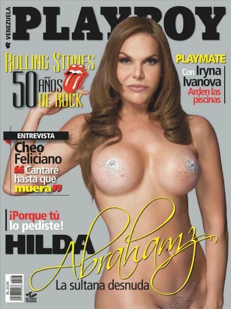 Fotos De La Actriz Venezolana Hilda Abrahamz Que Poso Desnuda Para
