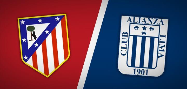 Atlético Madrid vs alianza Lima