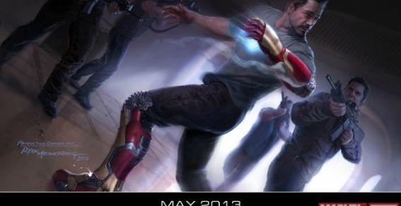 Marvel lanza afiche de Iron Man 3