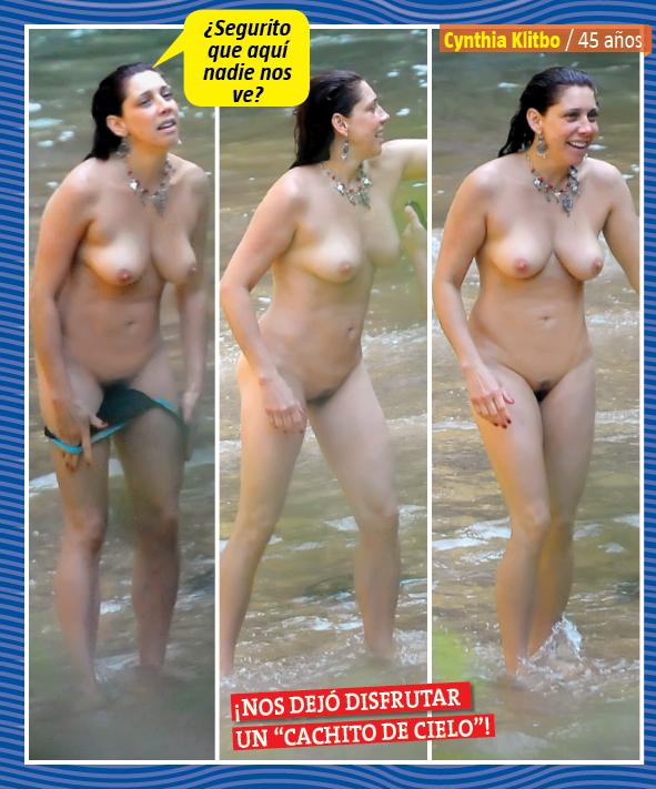 Desnuda Cynthia Klitbo Fotos Pillada