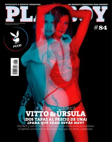 Vitto y Ursula PlayBoy Argentina diciembre 2012 (1)
