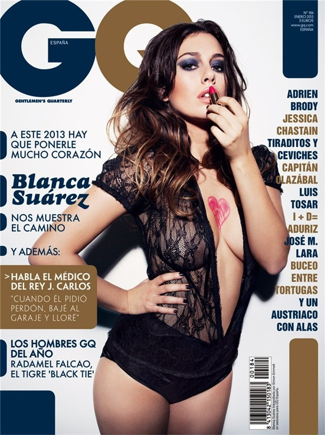 Blanca Suárez GQ Enero 2013