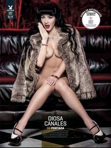 Diosa Canales Playboy Junio 2013