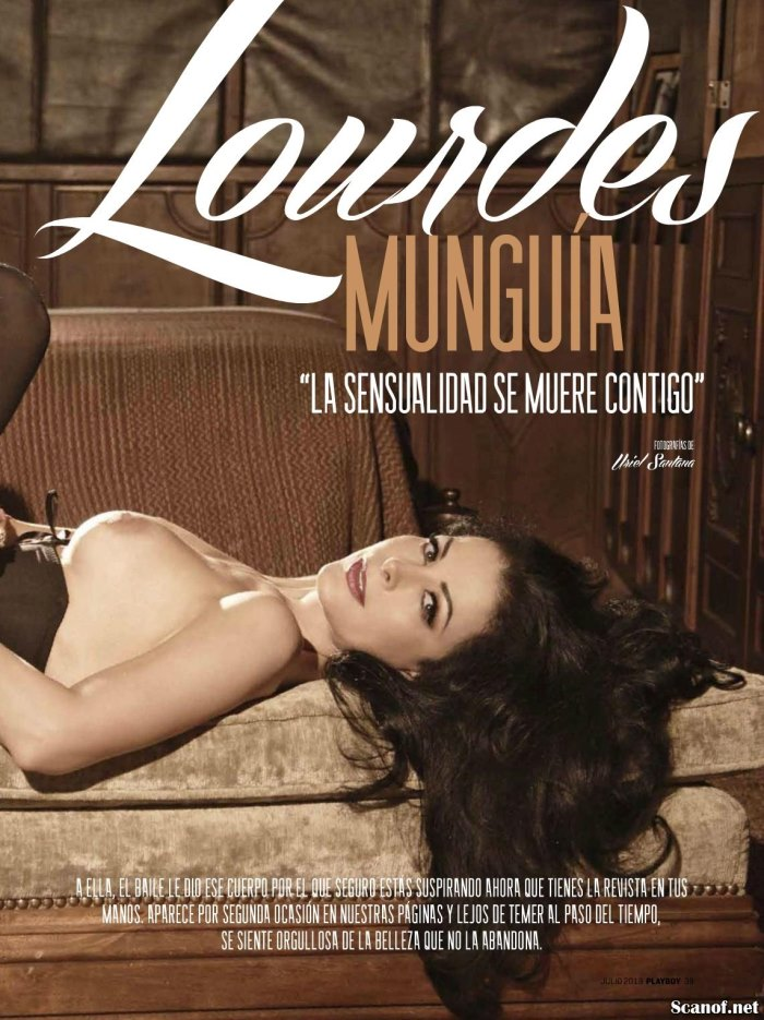 Fotos Lourdes Munguia Playboy Julio 2013