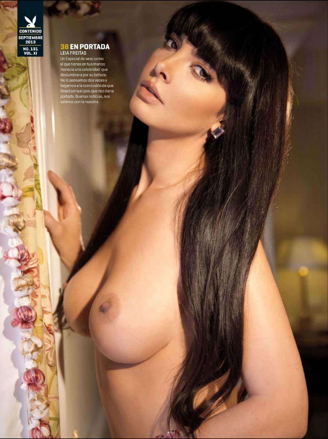 Leia Freitas Playboy Meico