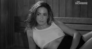 Ximena Díaz desnuda en Cosas Hombre